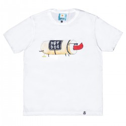 CAMISETA DE DISEÑO UMAMI LINE HOT DOG