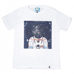 CAMISETA DE DISEÑO UMAMI LINE HEAD IN THE STARS