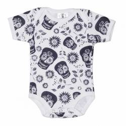 BODY ESTAMPADO CANDY SKULL