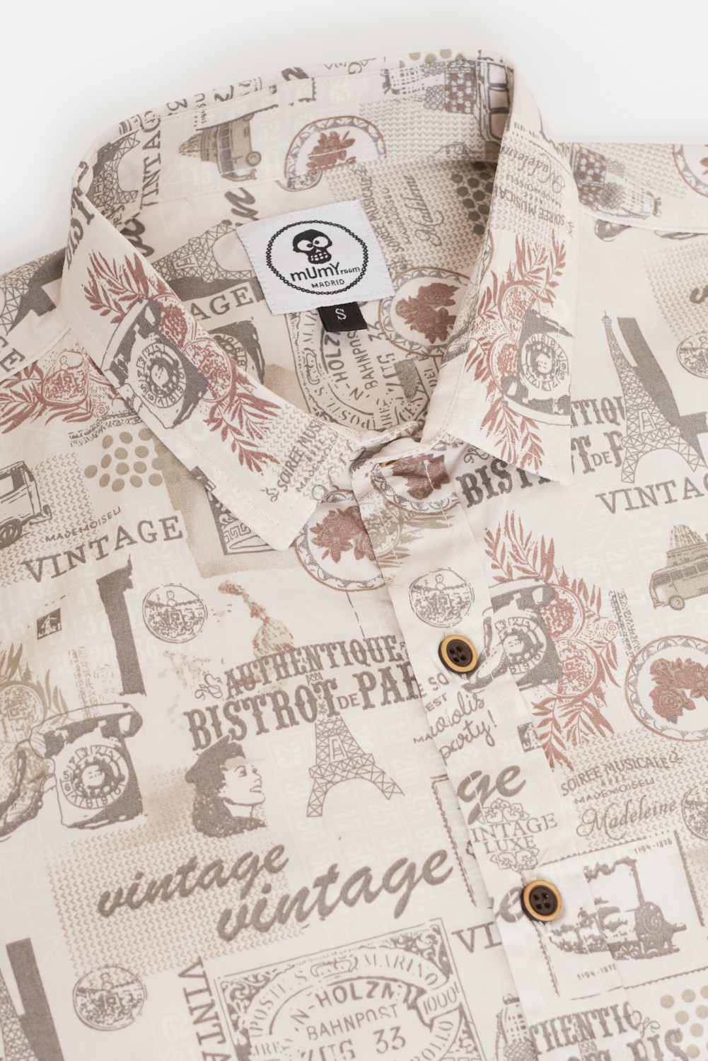 ADULT'S PRINTED SHIRT I LOVE VINTAGE