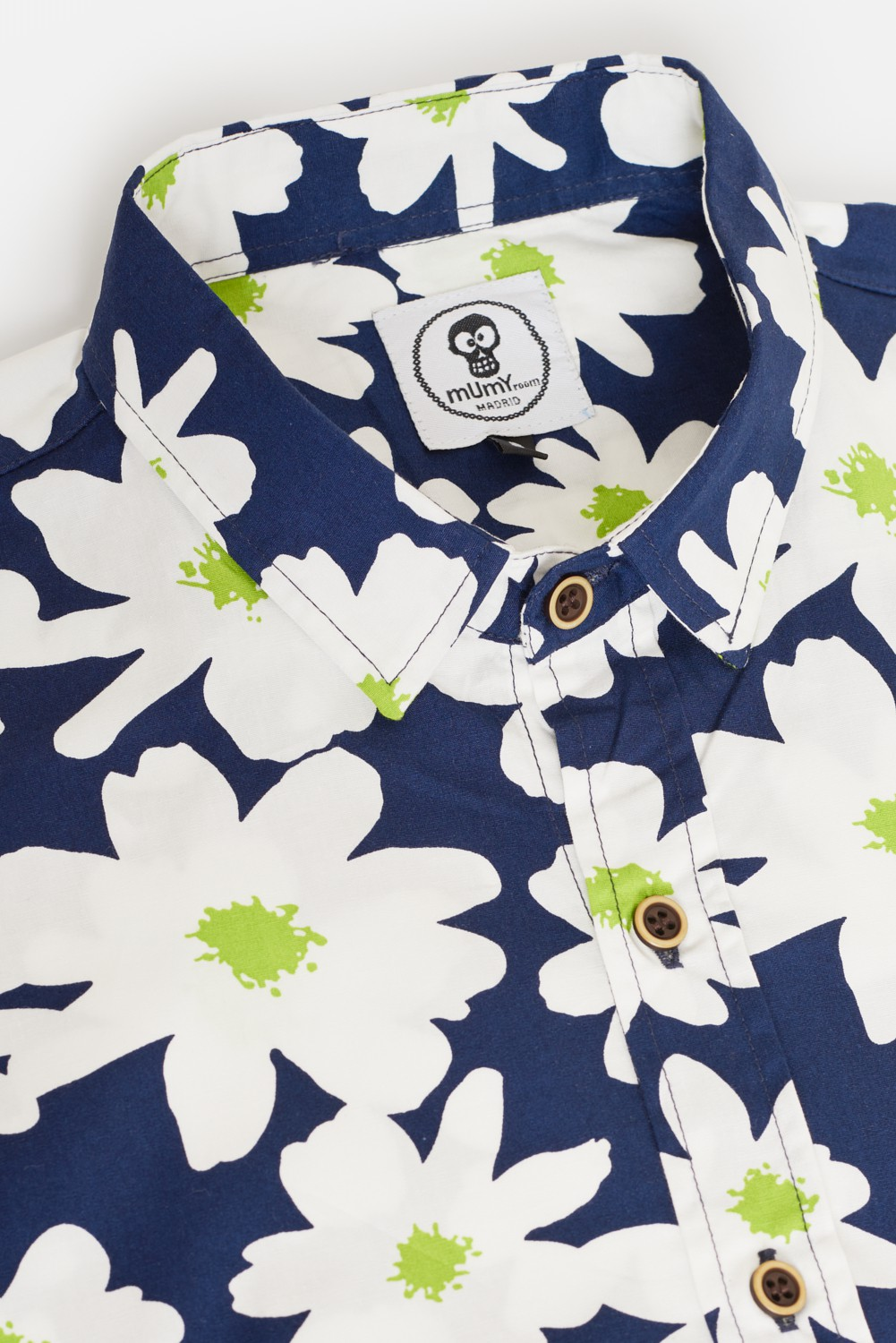 ADULT¡S PRINTED SHIRT DAISIES