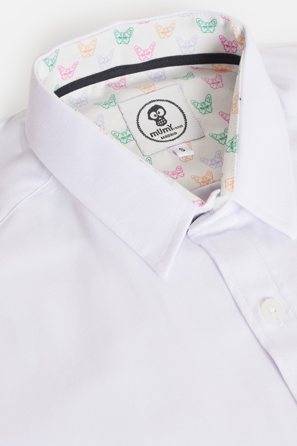 CAMISA ESTAMPADA CLASSIC BULLDOGS DE COLORES
