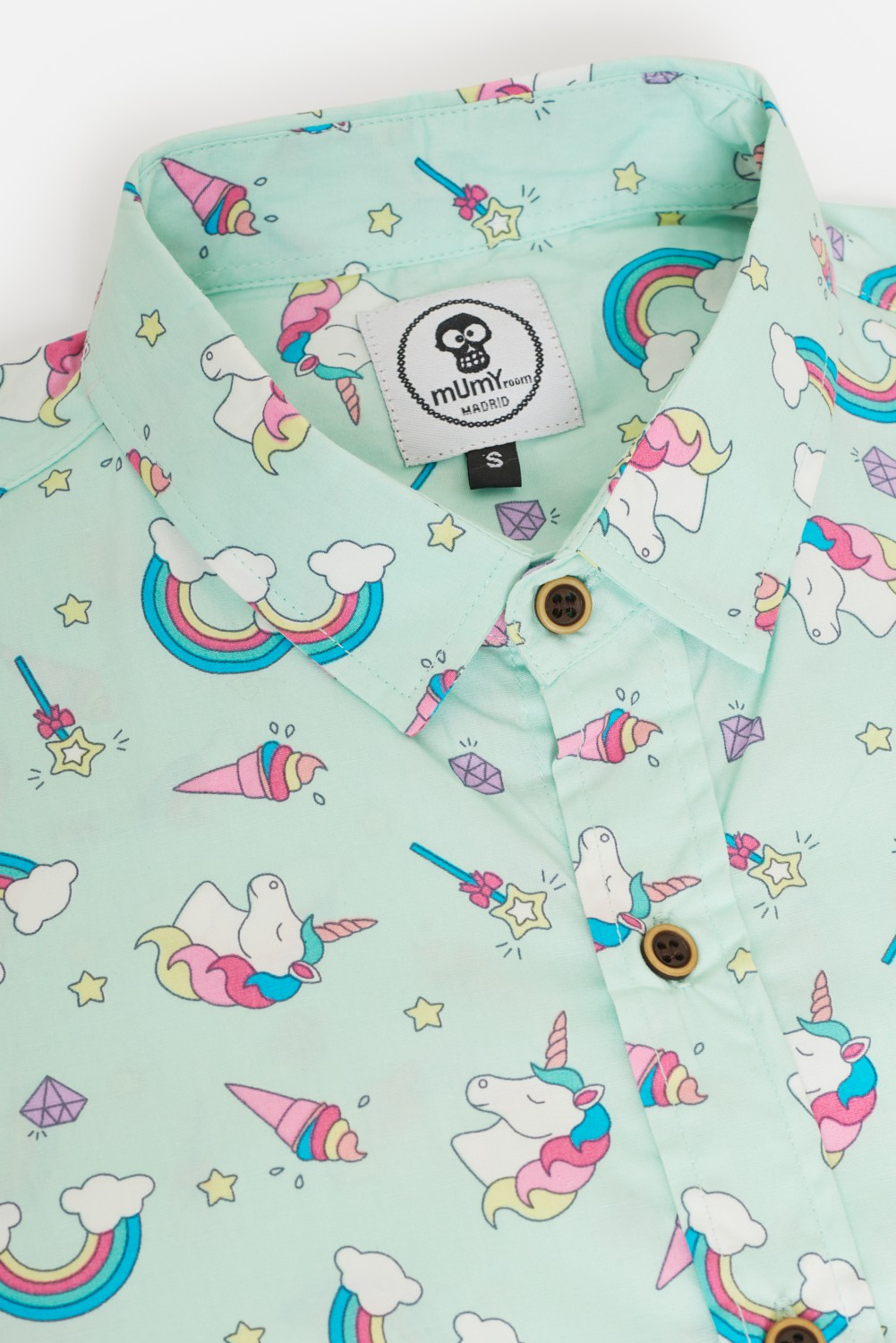 ADULT´S PRINTED SHIRT UNICORNS