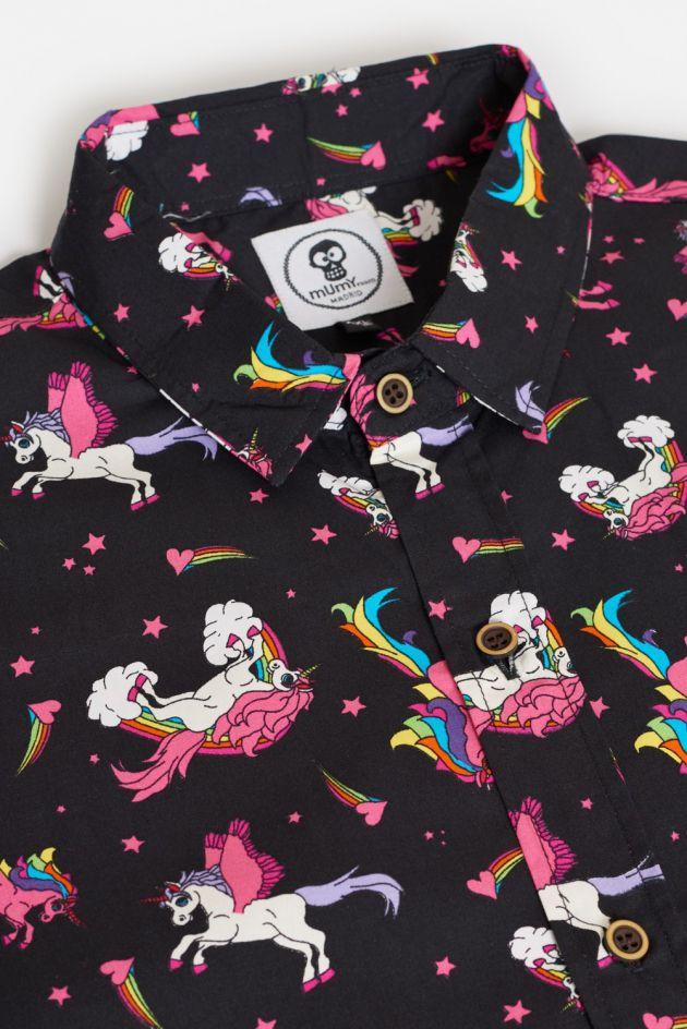 CAMISA DE DISEÑO UNICORN DREAMS