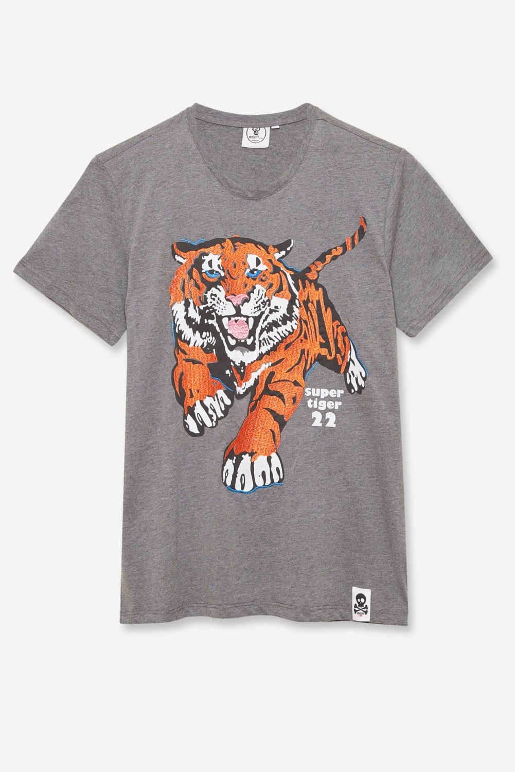 CAMISETA BORDADA UMAMI LINE SUPER TIGER