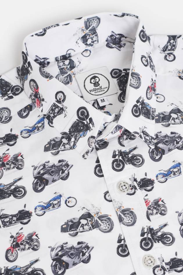 ADULT´S PRINTED SHIRT UMAMI LINE HIGH CYLINDER MOTORCYCLES