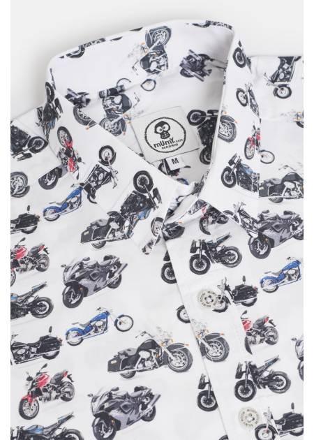 ADULT´S PRINTED SHIRT UMAMI LINE HIGH CYLINDER MOTORCYCLES
