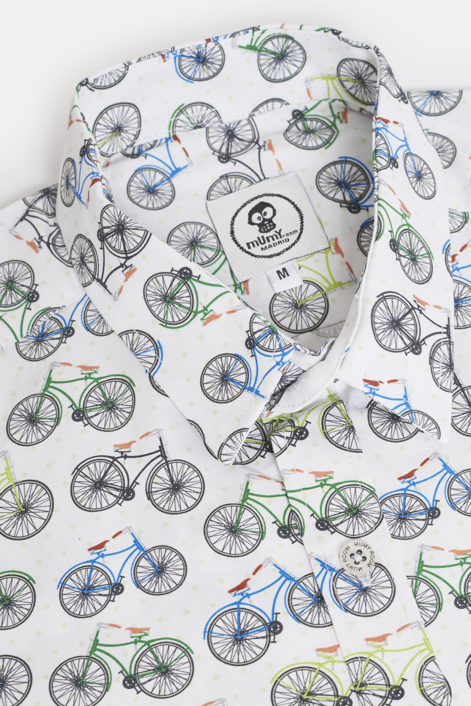 ADULT´S PRINTED SHIRT UMAMI LINE RETRO BICYCLES