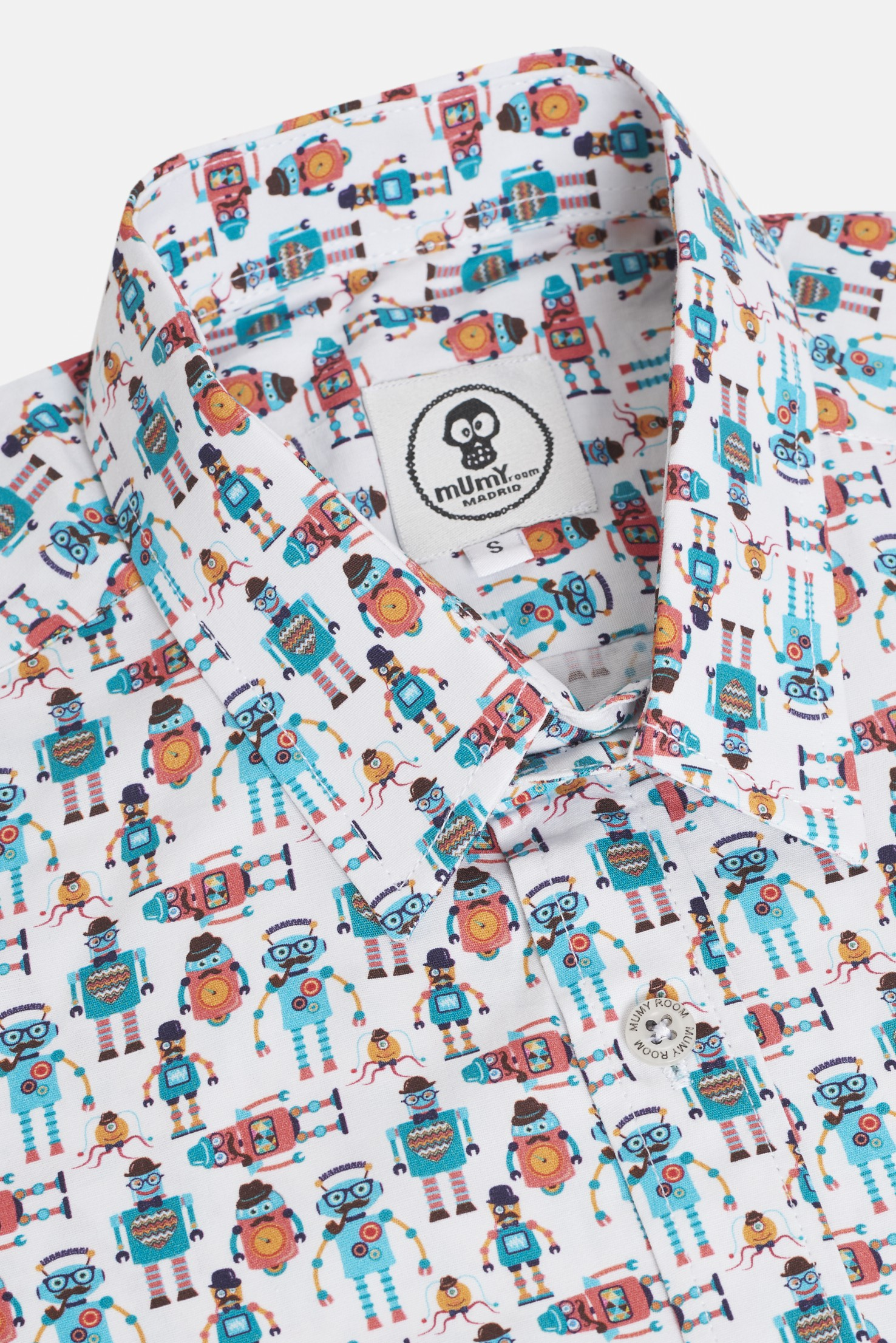 ADULT´S PRINTED SHIRT UMAMI MR. ROBOTS