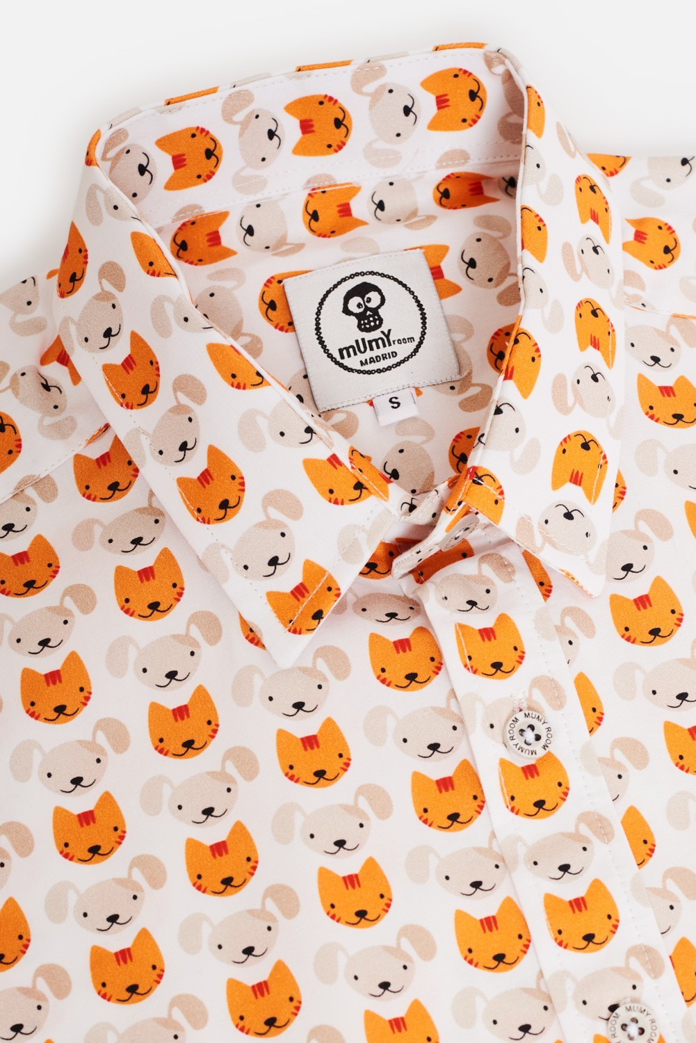 CAMISA ESTAMPADA UMAMI CAT-DOG-CAT