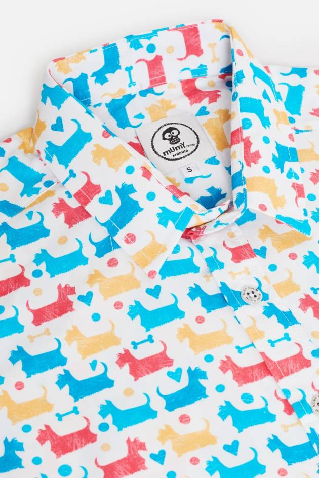 CAMISA ESTAMPADA UMAMI SCOTCHTER COLORES