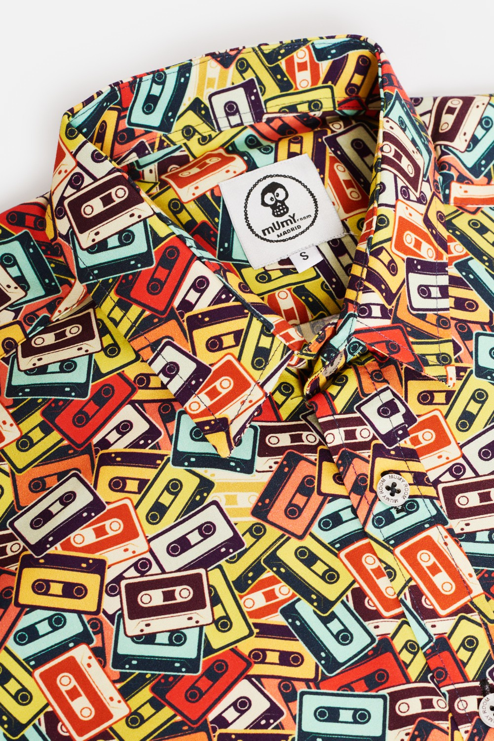 KID'S PRINTED SHIRT COLORED CASSETTES