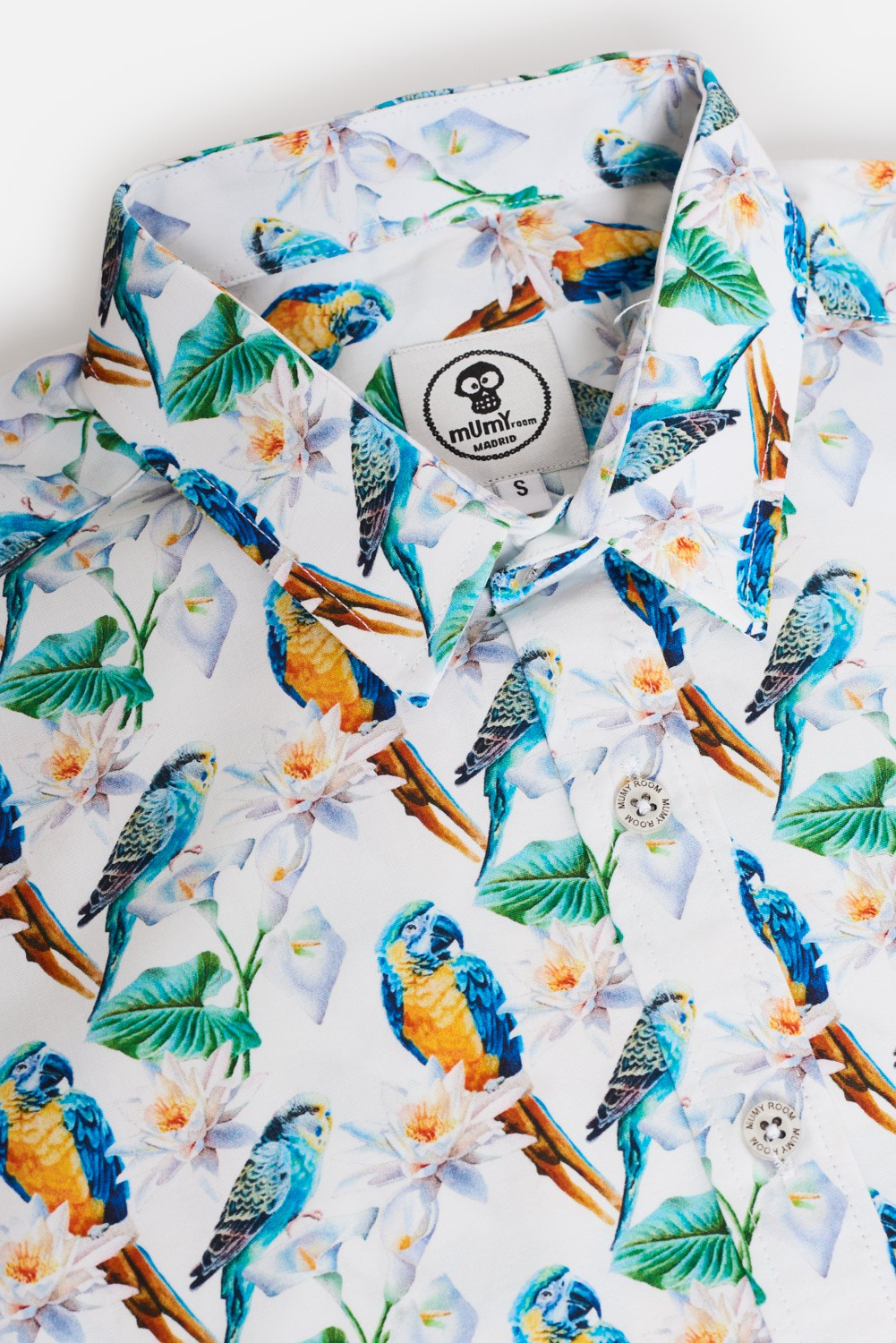 KID'S PRINTED SHIRT PARROT PERICO