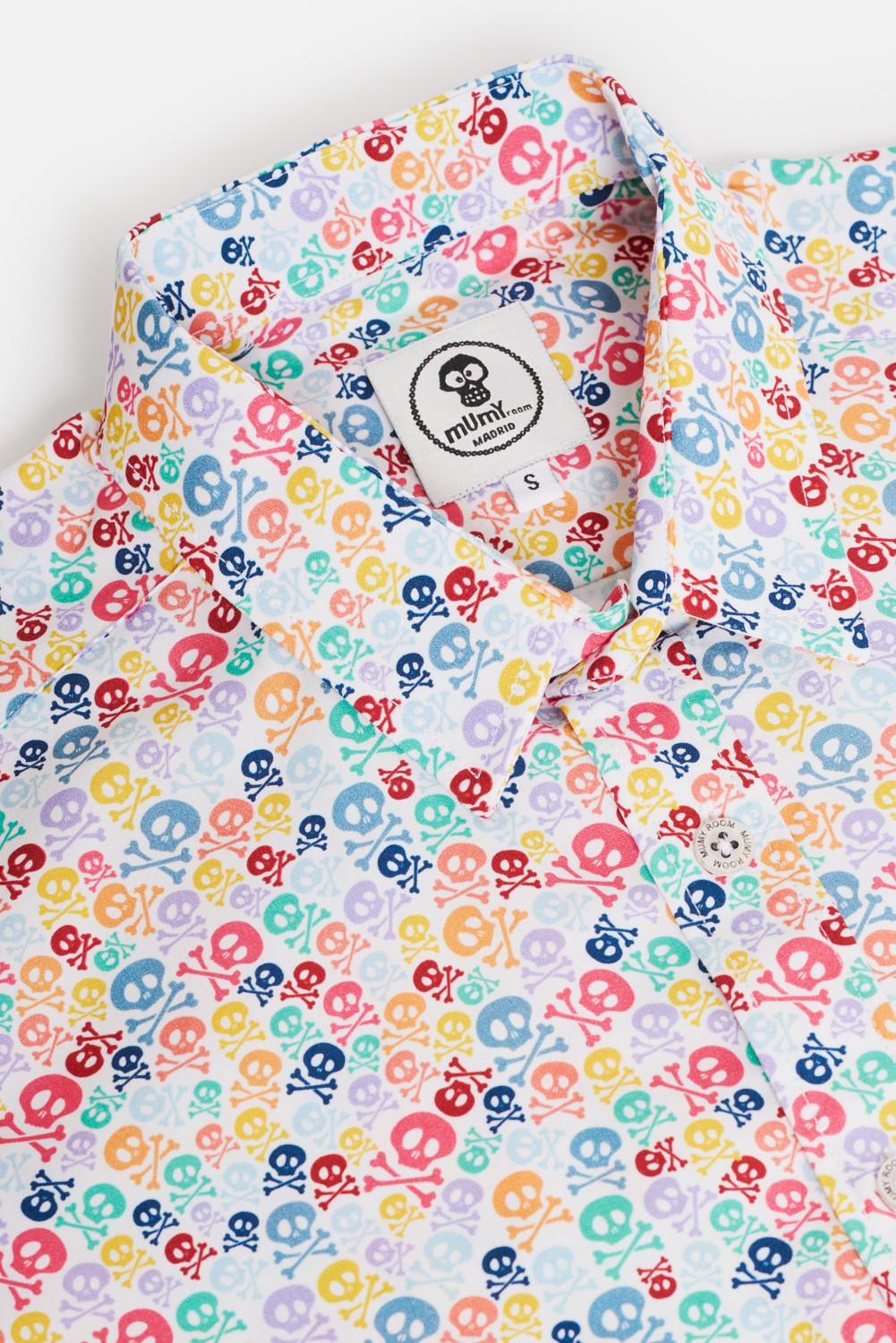 KID'S PRINTED SHIRT COLORED BONES