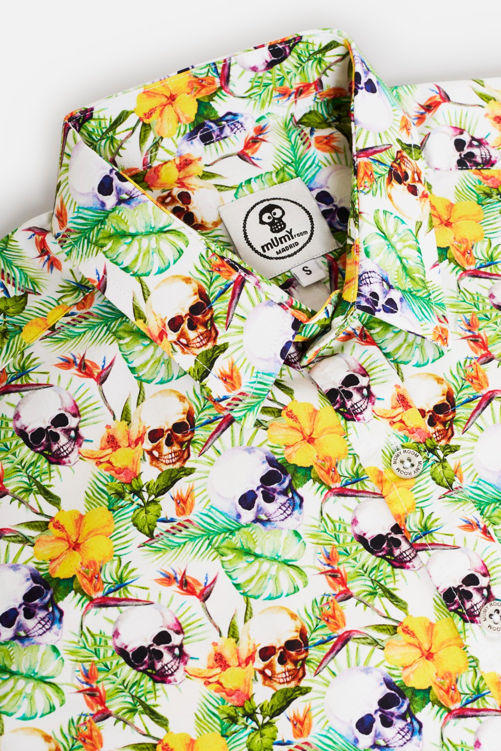KID'S PRINTED SHIRT HIDDEN SKULL
