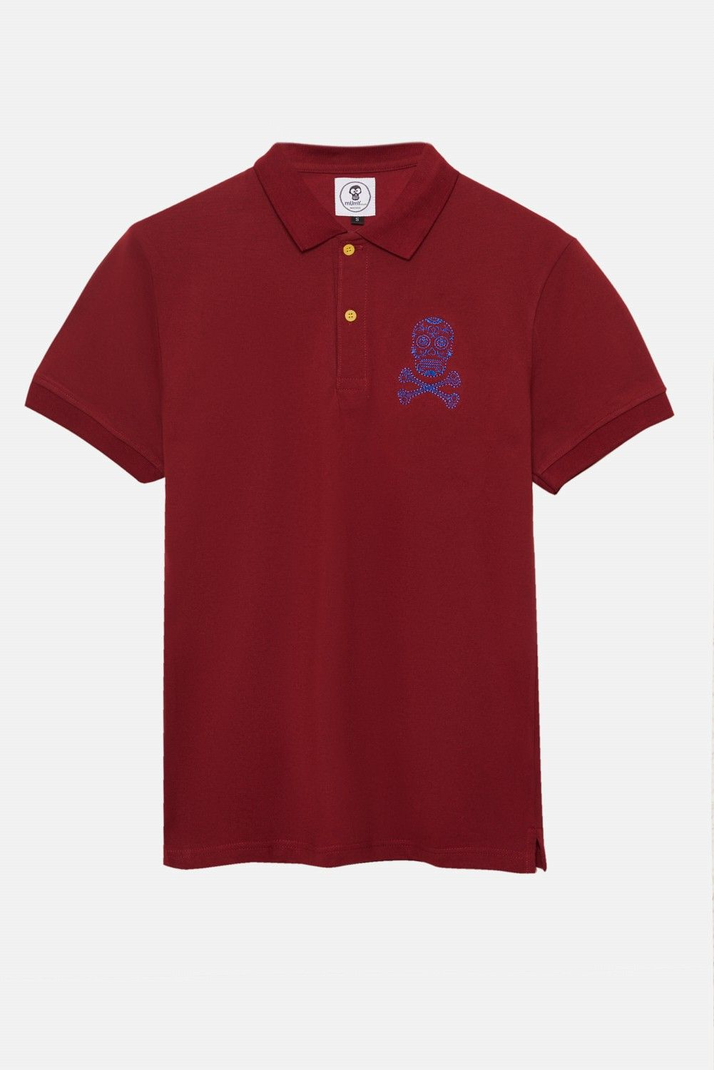 ADULT´S EMBROIDERED POLO NEW KATRINA IN RED