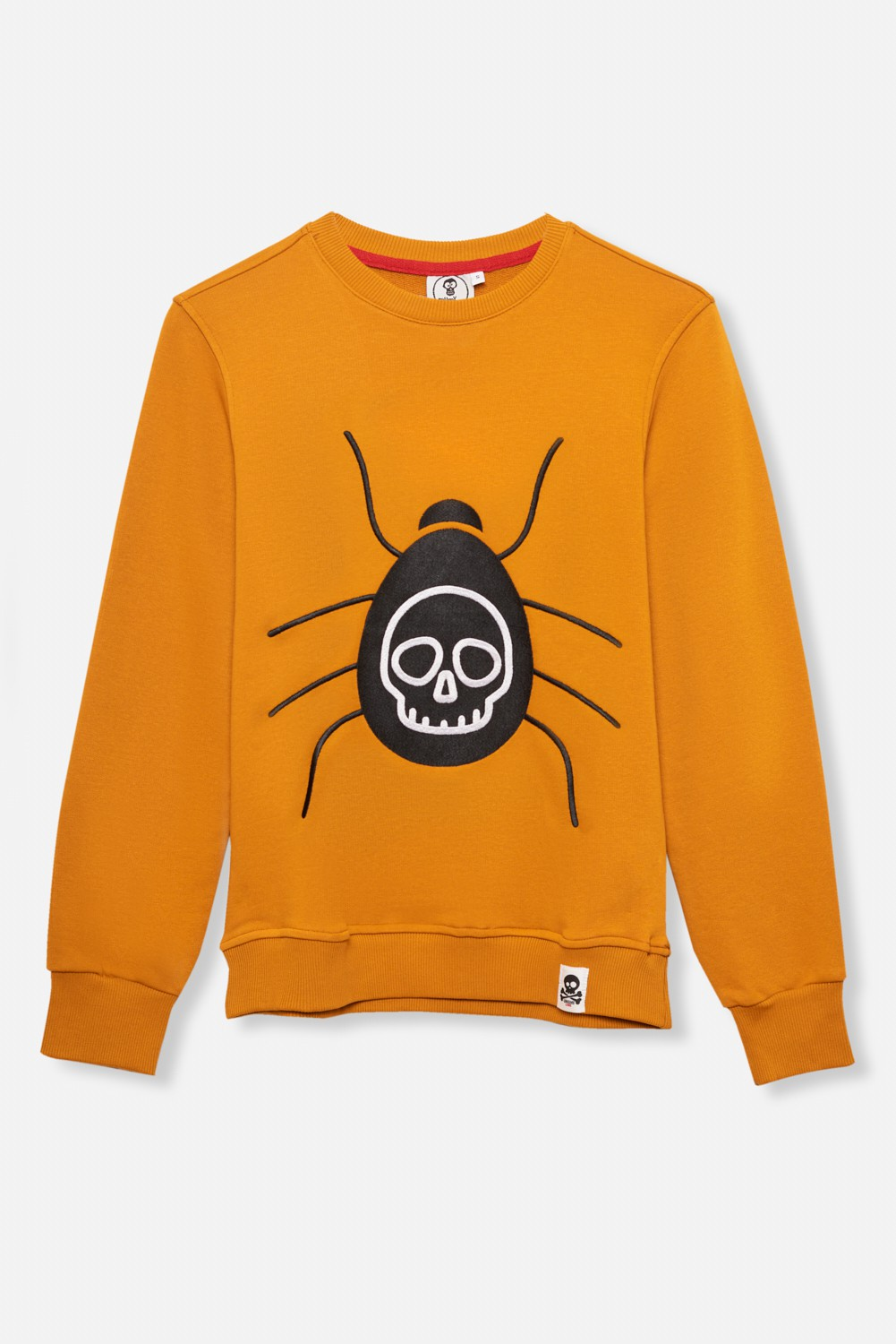 ADULT´S EMBROIDERED JERSEY UMAMI LINE SPIDER SKULL