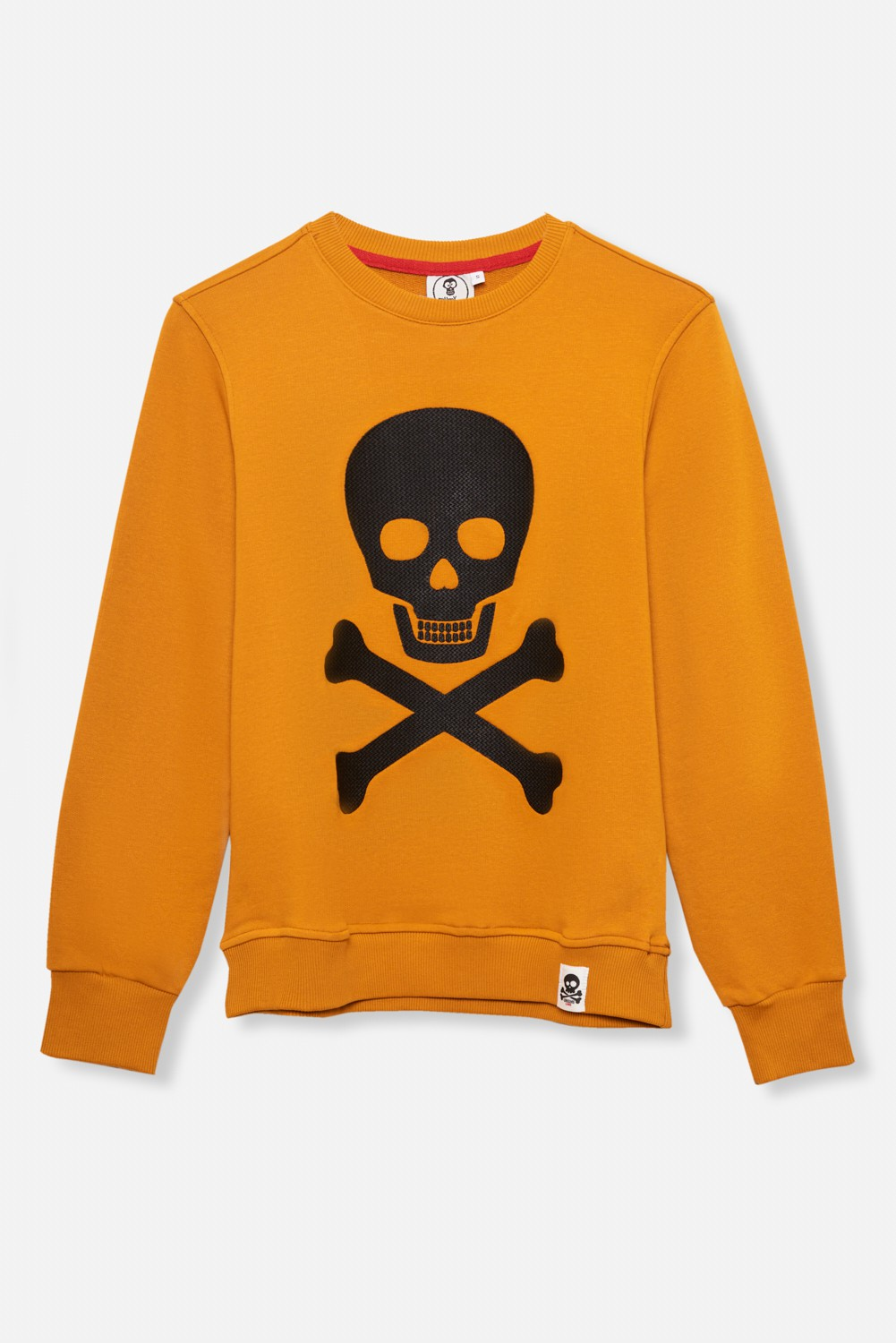 ADULT´S EMBROIDERED JERSEY UMAMI LINE SKULL AND BONES