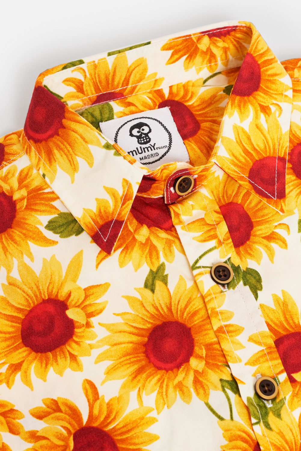 PRINTED KID'S SHIRT WITH SUNFLOWERS