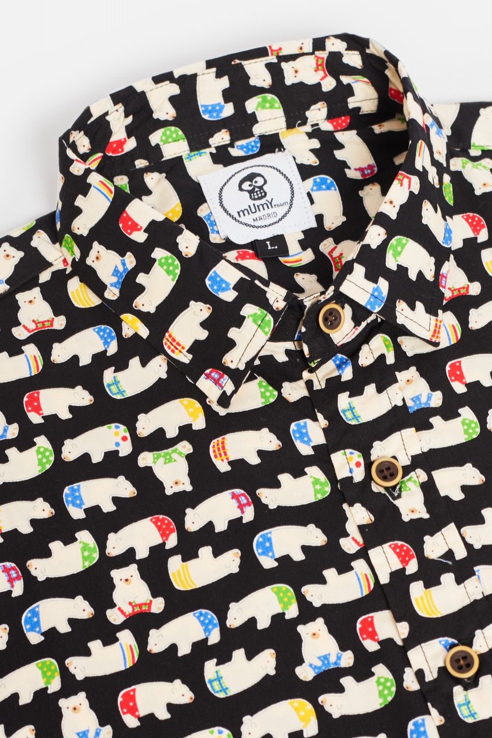 ADULT´S PRINTED SHIRT POLAR BEARS