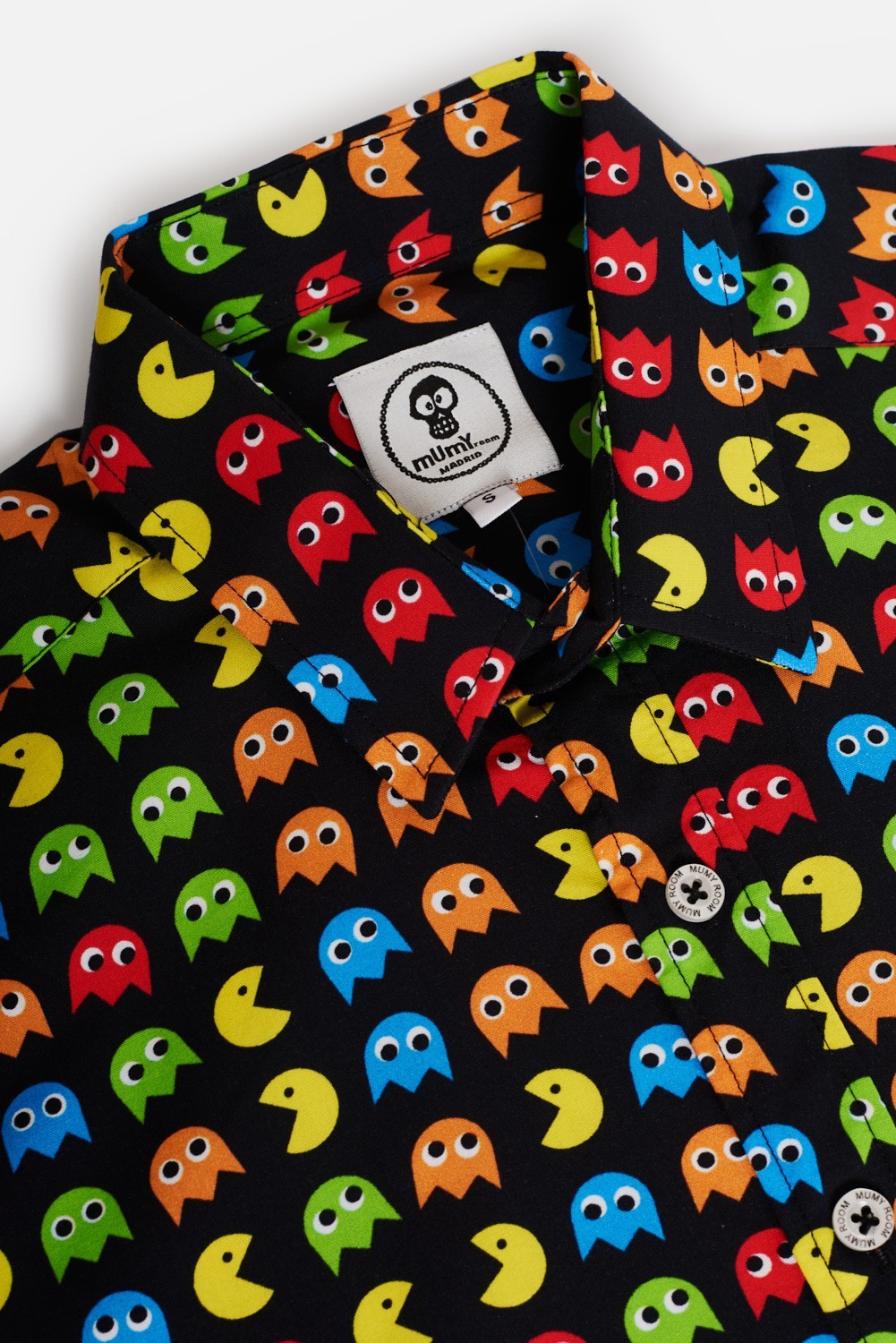 ADULT´S PRINTED SHIRT UMAMI LINE GHOSTS EAT
