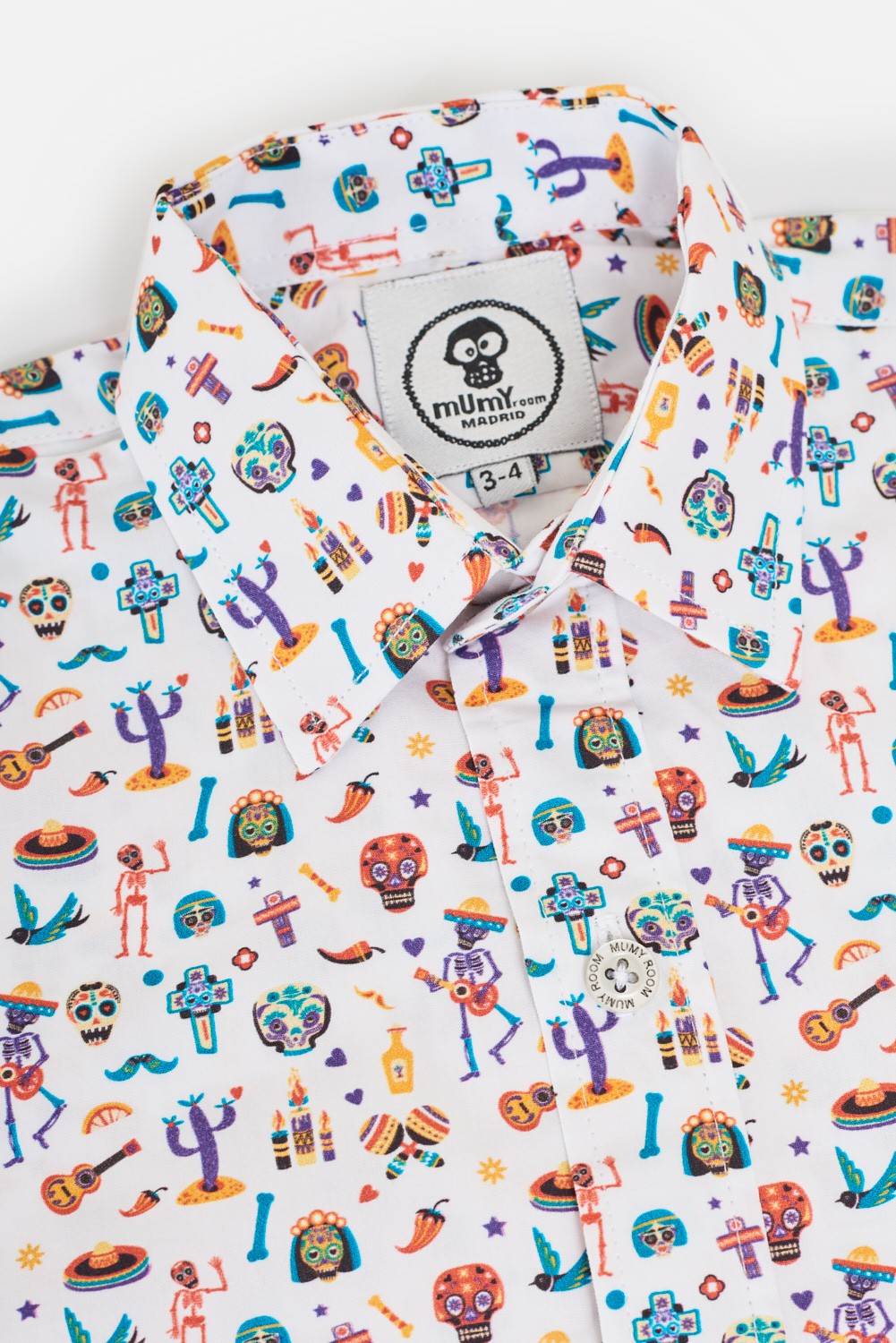 KID´S PRINTED SHIRT UMAMI LINE MEXICAN PARTY