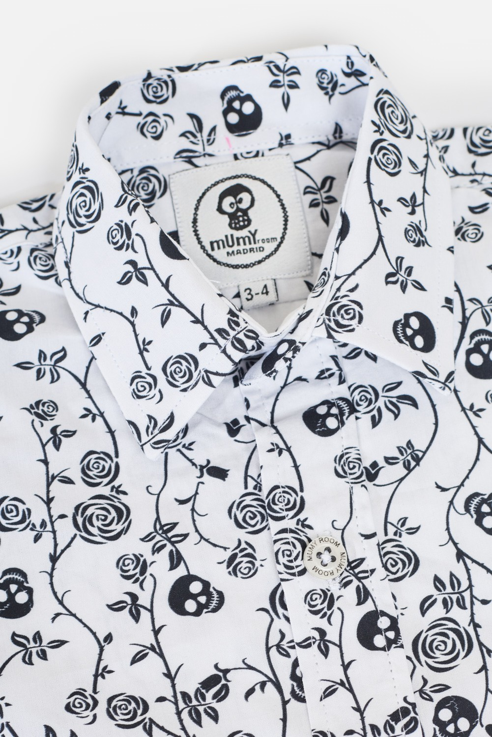 KID´S PRINTED SHIRT ROCKER LINE SKULLED BRANCHES