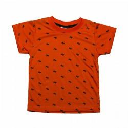 Camiseta Mini Perros Naranja