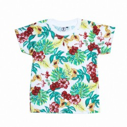 CAMISETA NIÑO TROPICAL NEW18