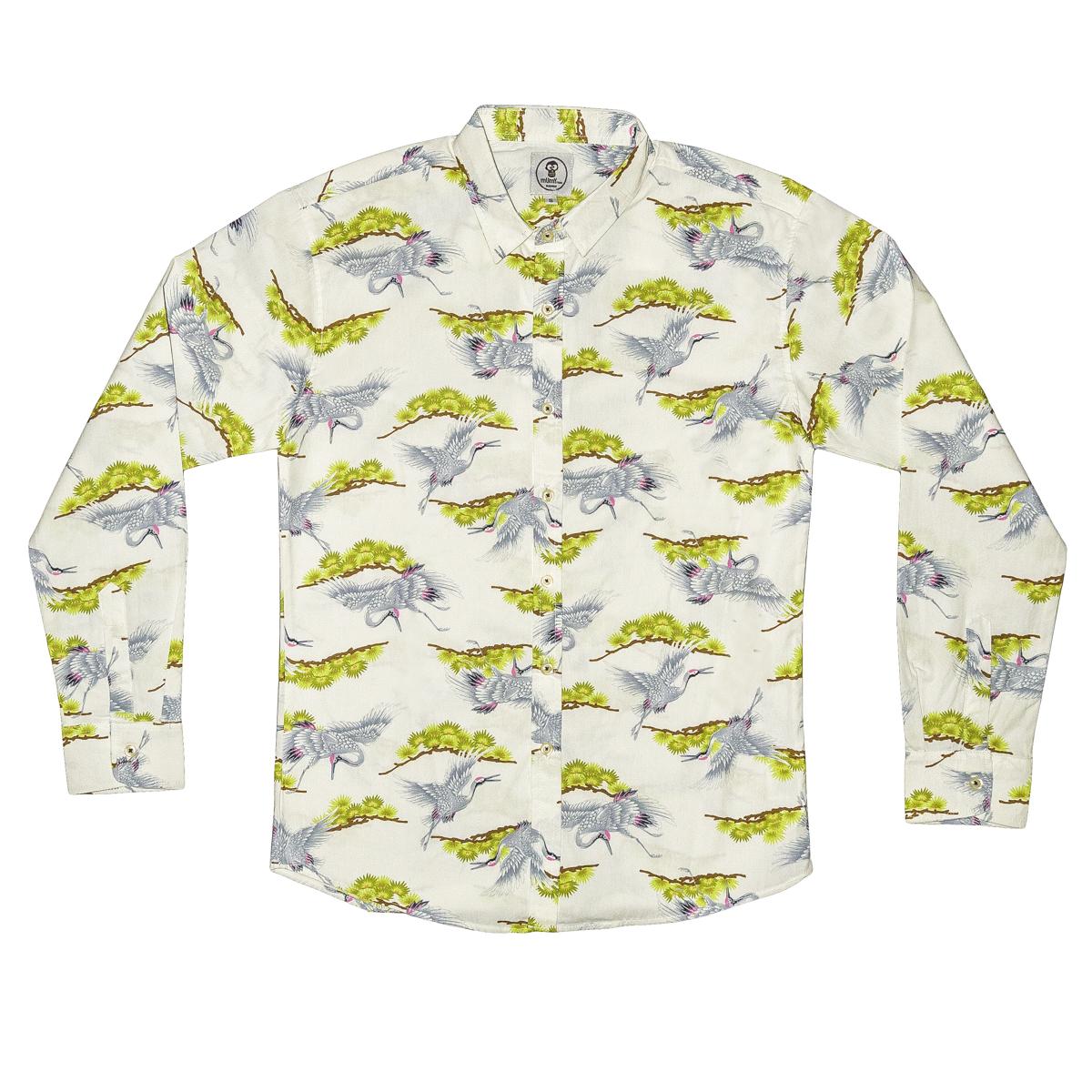 Camisa de grullas